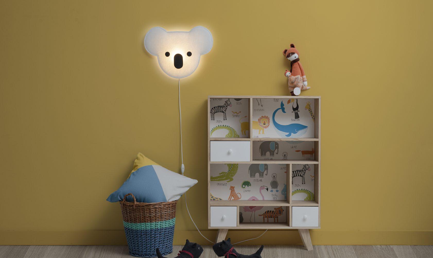lámpara infantil Koala de buokids