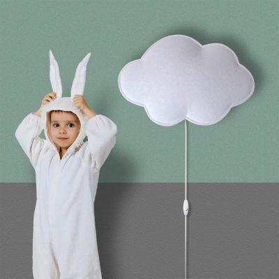 lampara infantil nube