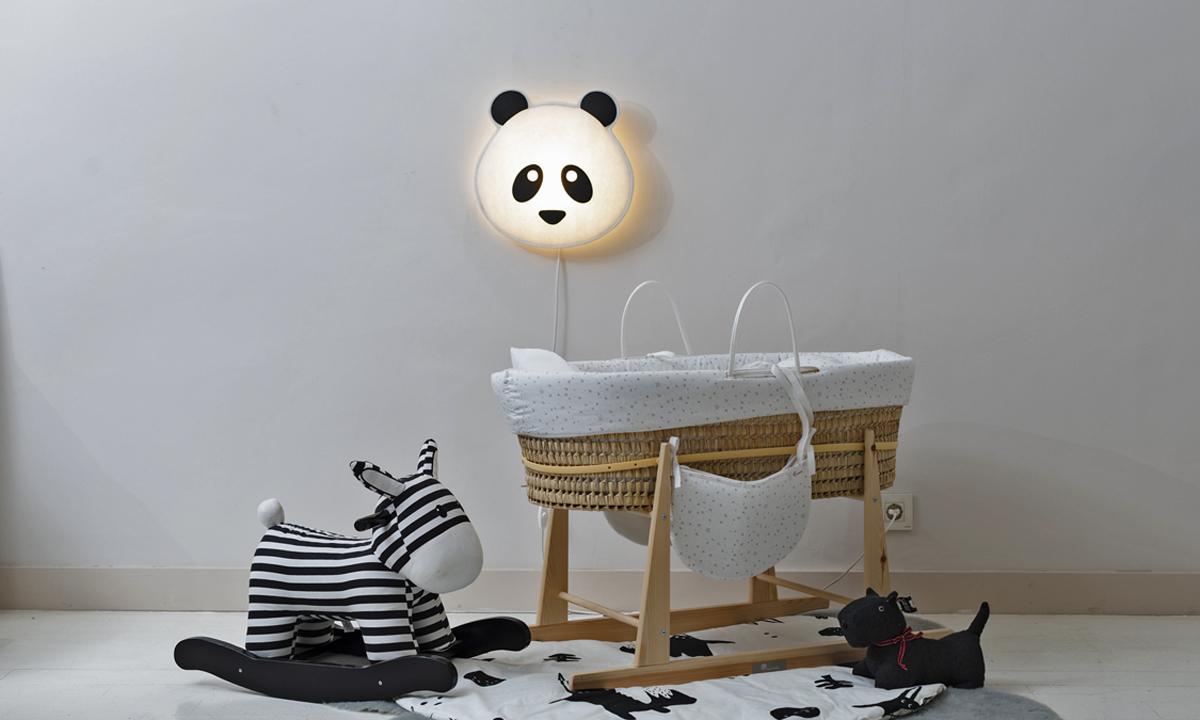 Lámpara infantil de pared Panda Buokids